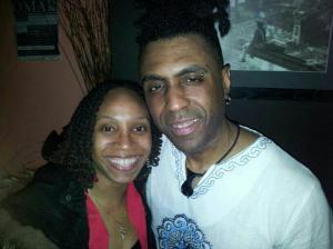 Charmaine Simpson and Omar